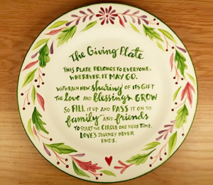 Doral The Giving Plate