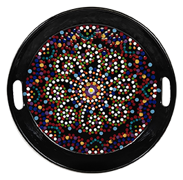 Doral Mosaic Mandala Tray