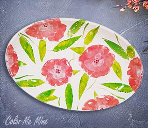 Doral Floral Paper Stamping
