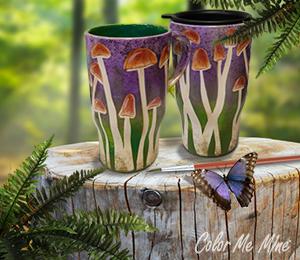 Doral Mushroom Mugs